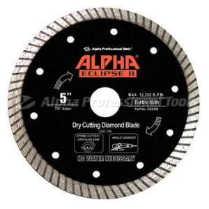 eclipse 2 dry cutting diamond blade
