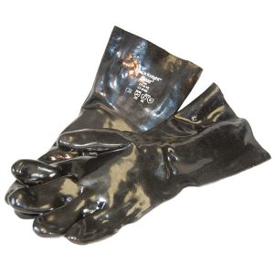 Black Knight PVC Gloves