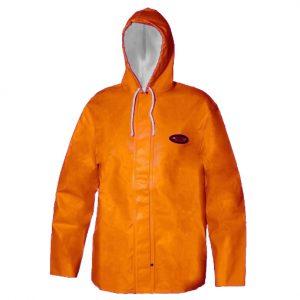 rain coat orange