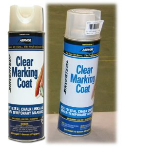 clear coat construction paint for chalk lines
