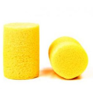yellow ear plugs