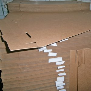 fiber board for packing shipping