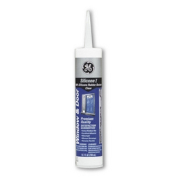 GE 100% Silicone Rubber Caulking