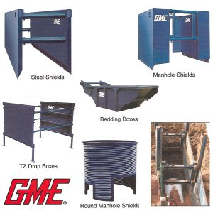 Steel Shields and Shoring