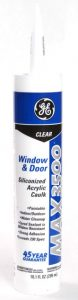 Silicone Window and Door Caulking