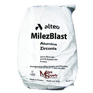 milezblast alumina zirconia