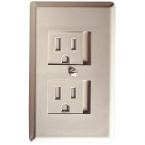Spring-Loaded Outlet Cover