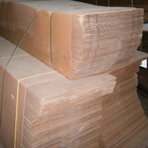Wax Coated Cardboard