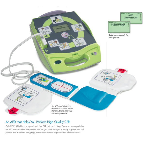 Zoll Automated External Defibrillator | AED and First Aid