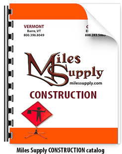 Miles Supply CONSTRUCTION Catalog
