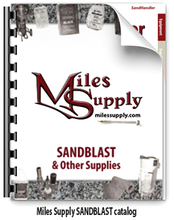 Miles Supply SANDBLAST & Shop Catalog