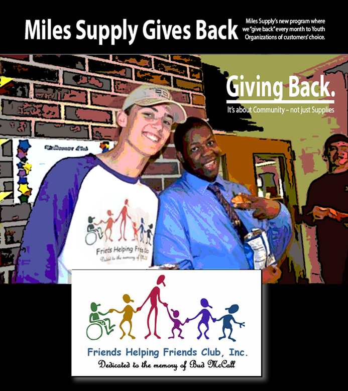 Miles Gives Back
