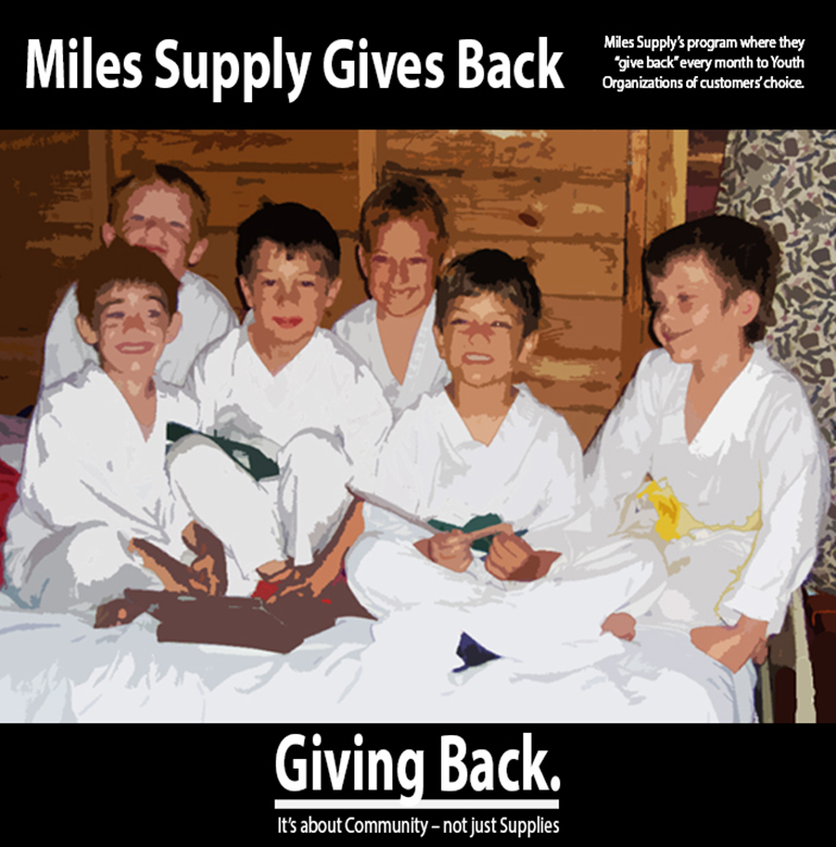Miles Supply Gives Back