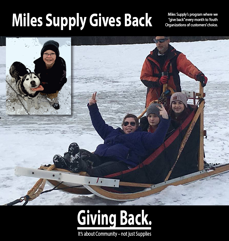 Miles Supply Gives Back Graphic