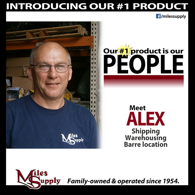 Miles Supply Employee
