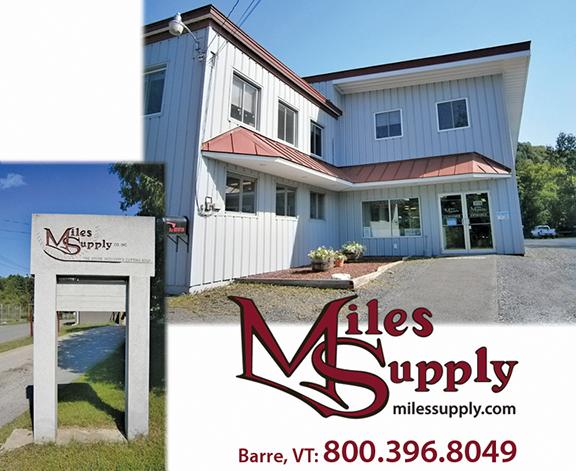 Miles Supply Vermont
