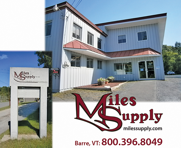 Miles Supply Vermont Location