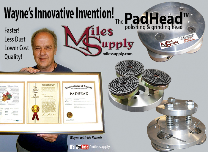 Padhead inventor Wayne from Miles Supply