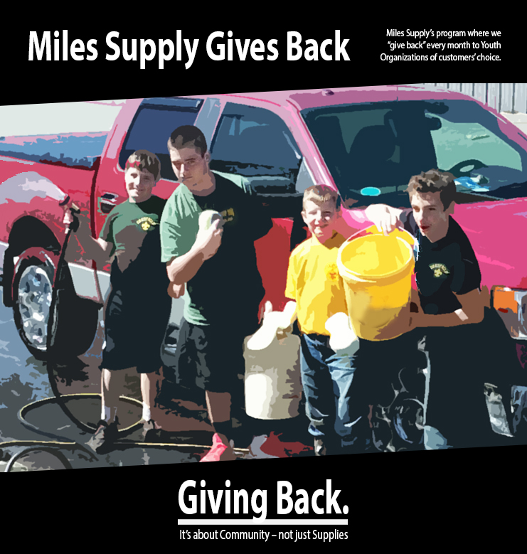 Miles Supply Graphic