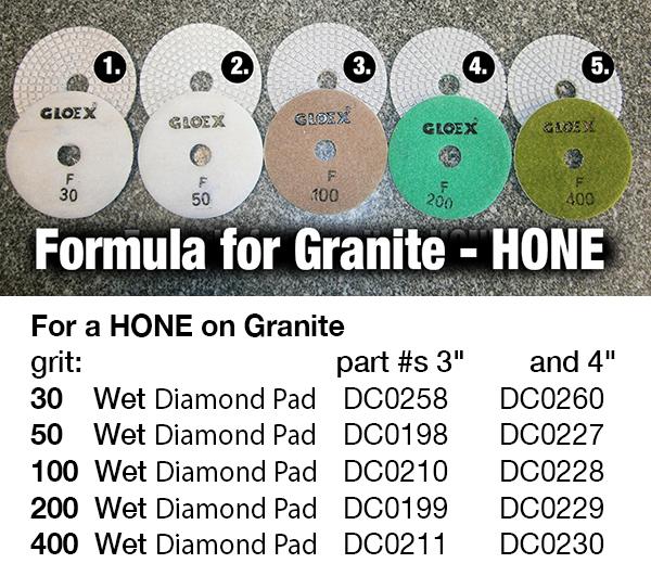 honing granite