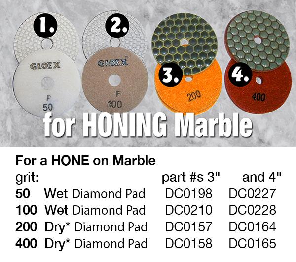 hone marble