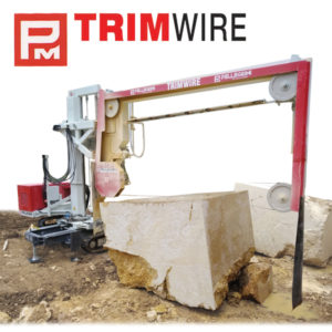 Mobile Quarry Saw Pellegrini Trimwire