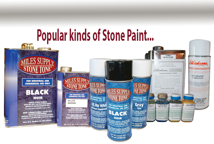 Stone Tone and lithichrome stone paints