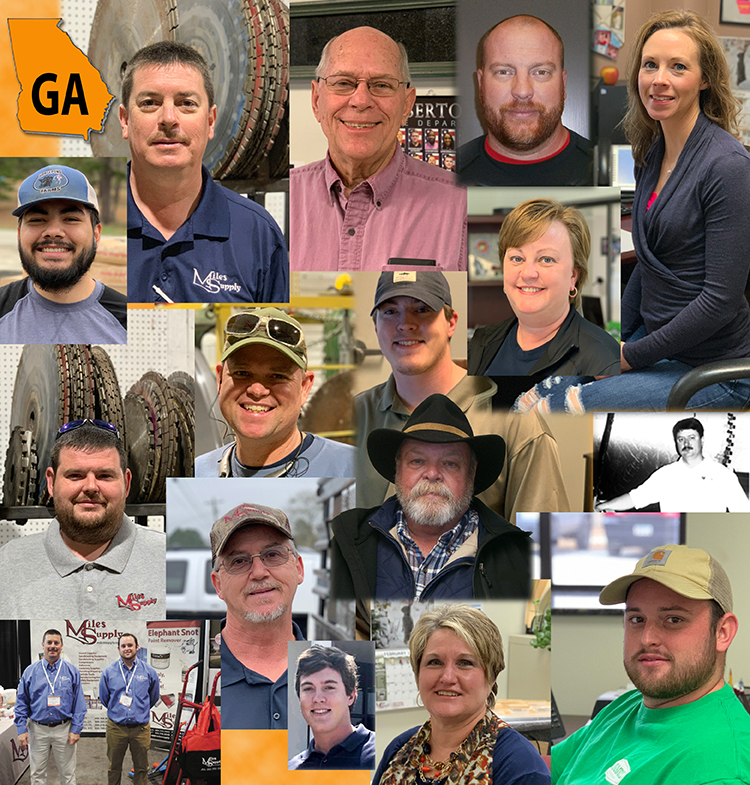 Elberton Georgia Miles Supply Staff