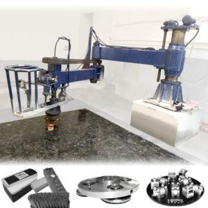 radial arm polishing machine