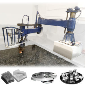 radial arm polishing machine