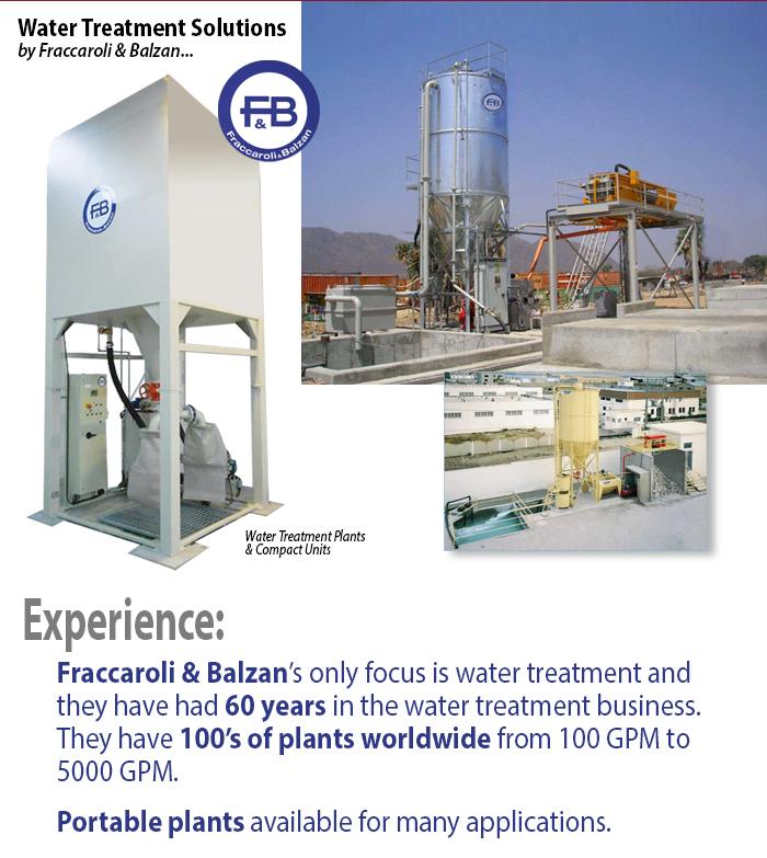 Plants to filter water by Fraccaroli and Balzan