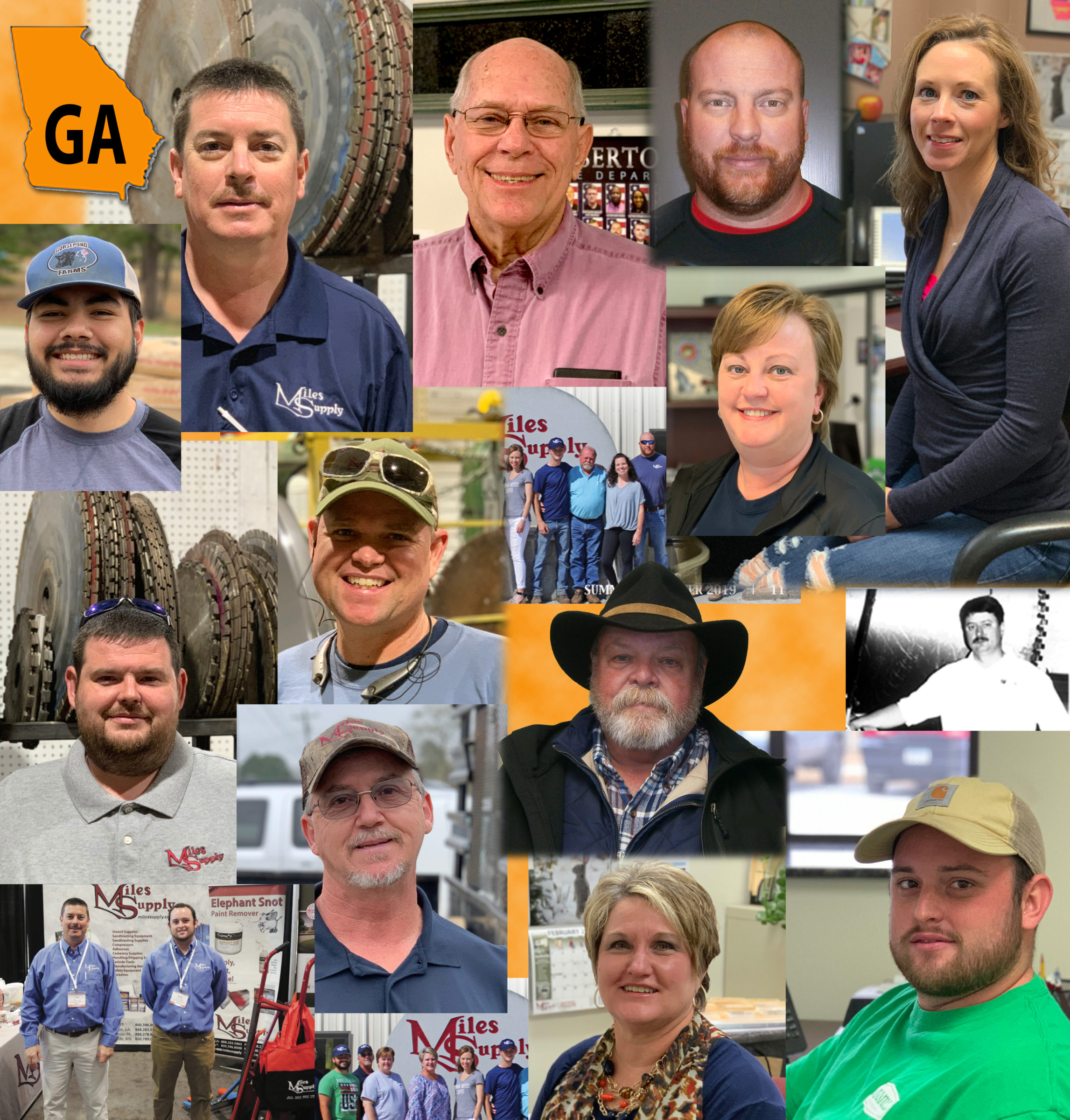some of our Georgia Miles Supply staff