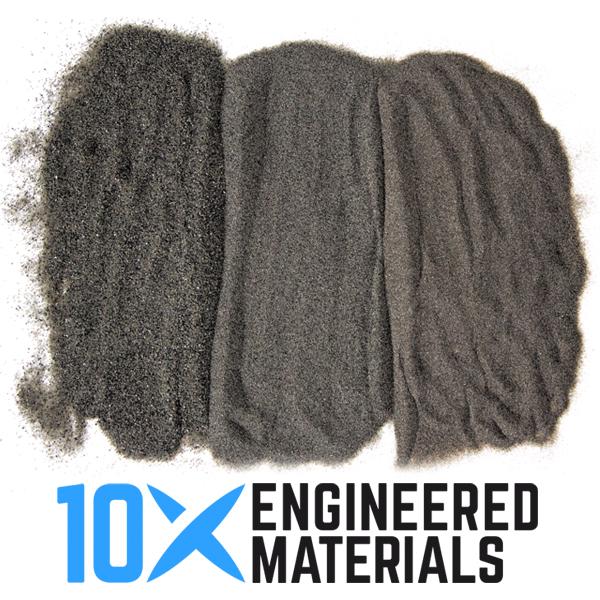 10x abrasives for sandblasting metal