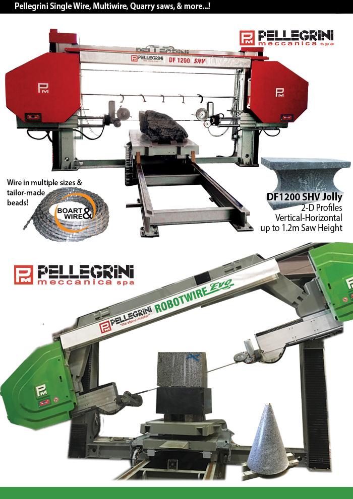 pellegrini's single wire saws