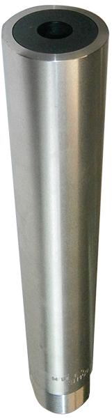 Nozzle for sandblasting metal