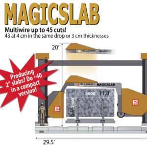 MagicSlab compact multi-wire saw