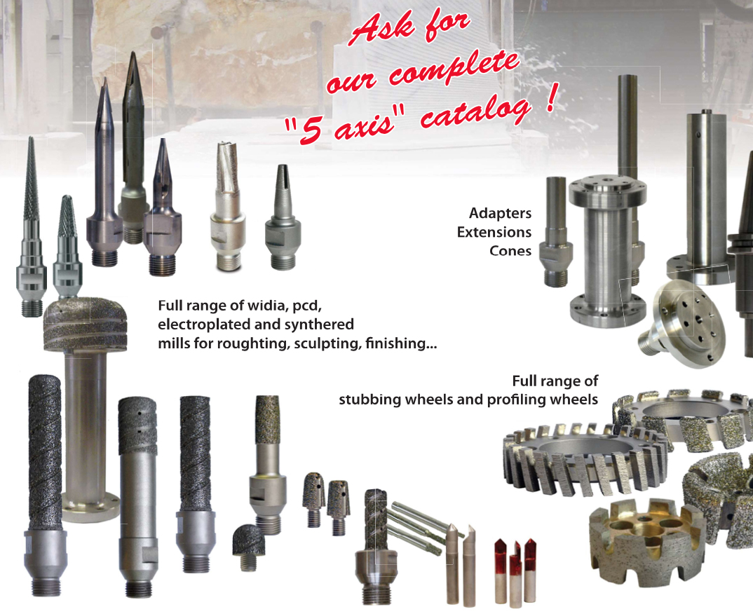 Nicolai 5 axis CNC tools