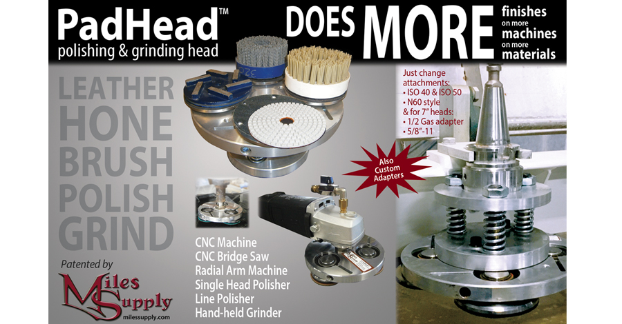 Our Miles Supply PadHead™ does more!