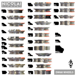 Nicolai DM60 profile wheels