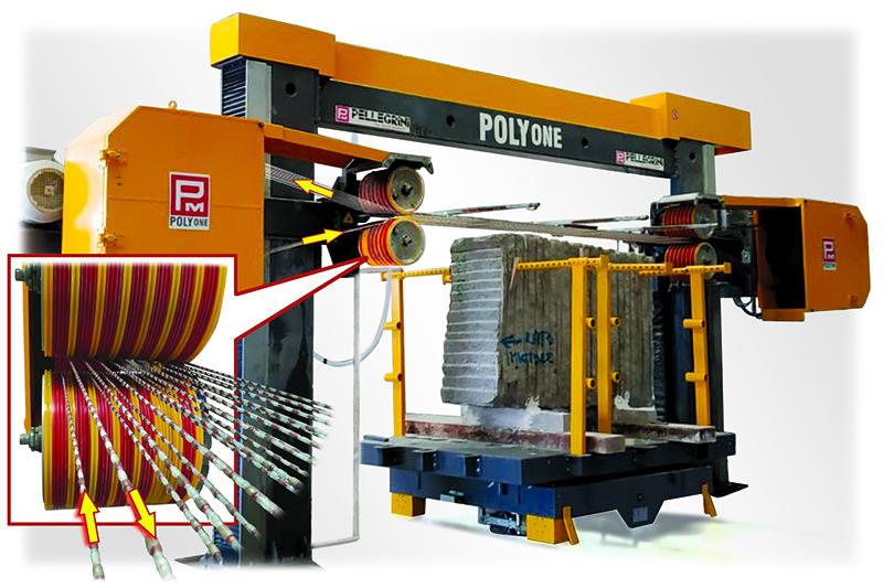 PolyOne Stone World's machine of the month