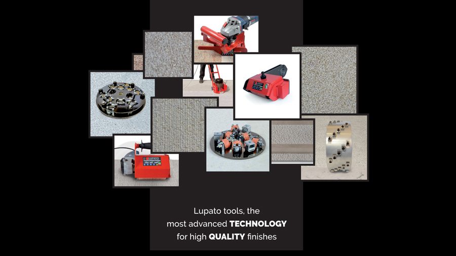 Lupato texture tools and equipment