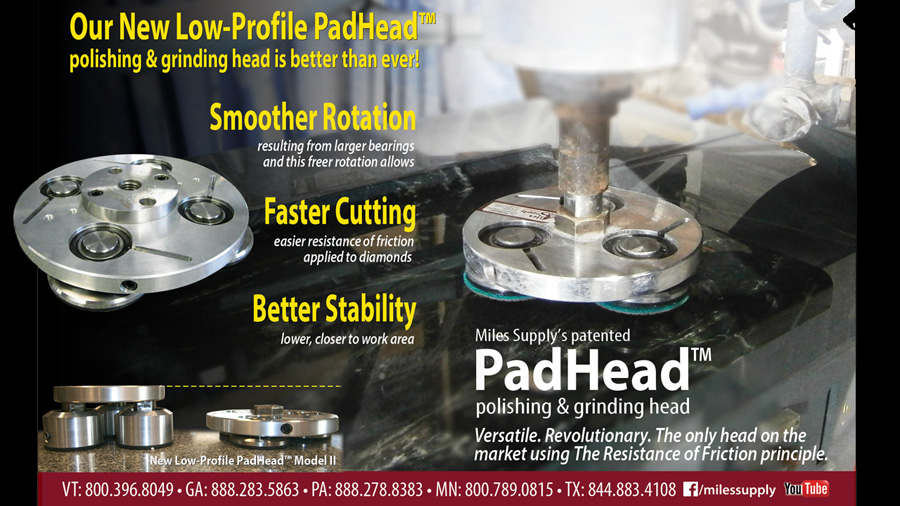 PadHead update with low profile