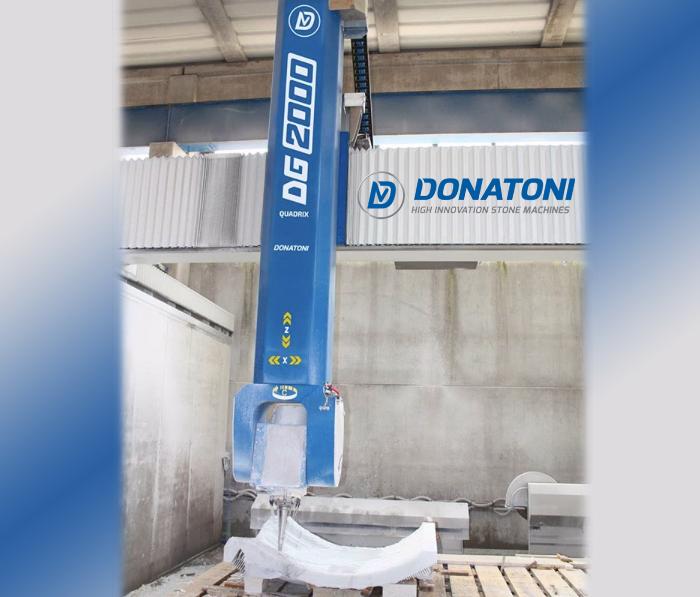 Donatoni CNC stone machine