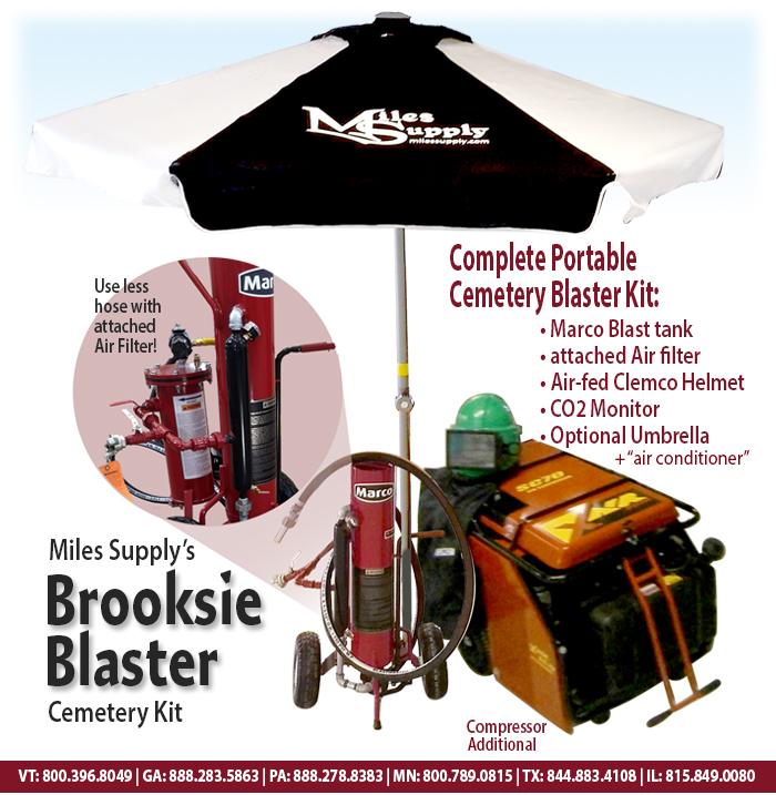 Brooksie Blaster Cemetery Blast Kit