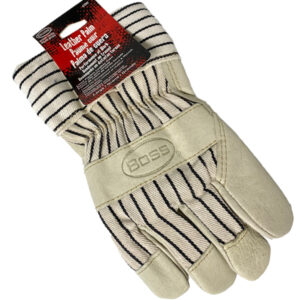 Leather Palm Insulated Glove