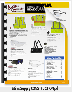 Miles Supply CONSTRUCTION Flyer