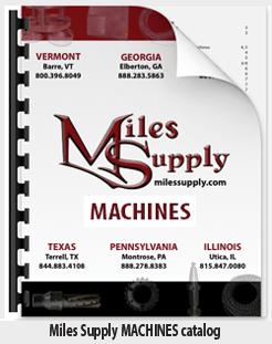 Miles Supply Machines & more catalog - 2021