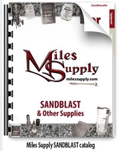Miles Supply SANDBLAST & Shop Catalog