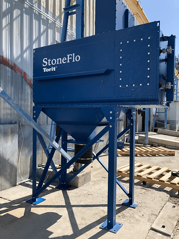 StoneFlo dust collector for SandHandler